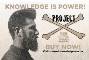 Reuzel Barber ProjectX Pomade ルーゾー 理容室 床屋 バーバー プロジェクトX Apache アパッシュ 日本 旭川 北海道