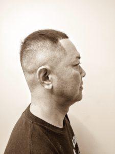 Barber Apache Mens Hairstyle Summer バーバースタイル 夏 フェード アパッシュ ジェル ポマード Pomade Gel