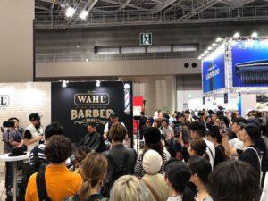 Barberella Japan Brosh Pomade Battle Wahl ウォール バーバレラ ジャパン ブロッシュ バトル 女性バーバー 東京ビックサイト