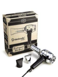 Grimsteads Professional Hair Dryer グリムステッド ヘアードライヤー メンズ 理容室 床屋 バーバー アパッシュ Apache Barber  銀のドライヤー GSD1100 レトロ